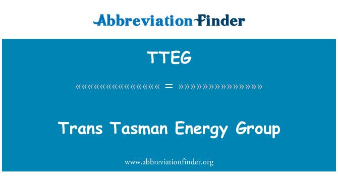 TTEG: Trans Tasman Energy Group