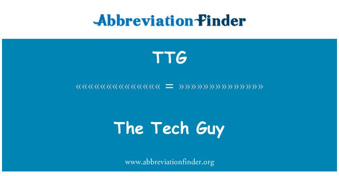 TTG: The Tech Guy