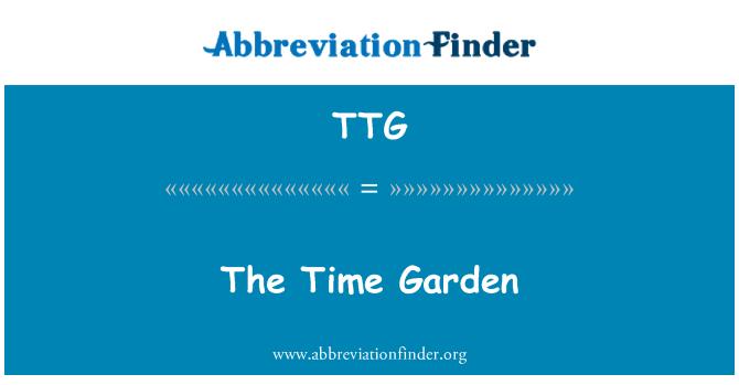 TTG: The Time Garden