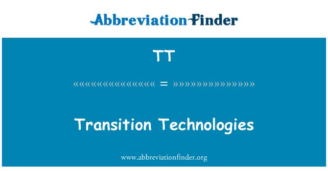 TT: Transition Technologies