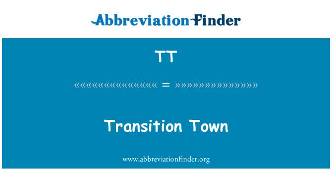 TT: Transition Town