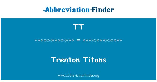 TT: Trenton Titans
