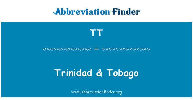 TT: Trinidad & Tobago