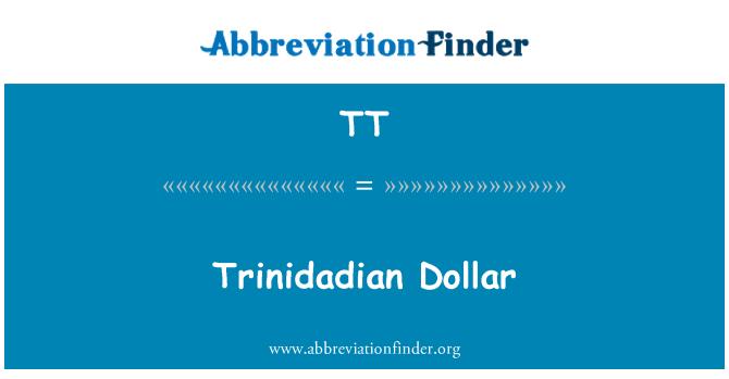 TT: Trinidadian Dollar