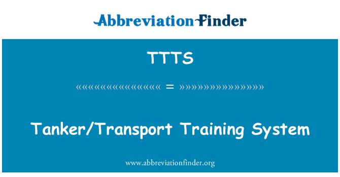 TTTS: Sistema de entrenamiento cisterna/transporte