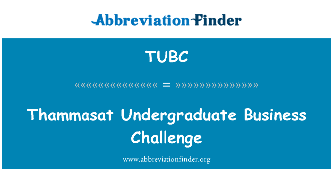 TUBC: Sarjana TM Business Challenge