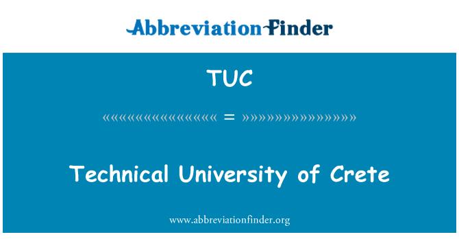 TUC: Technical University of Crete
