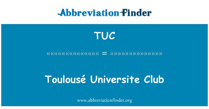 TUC: Toulousé Universite Club