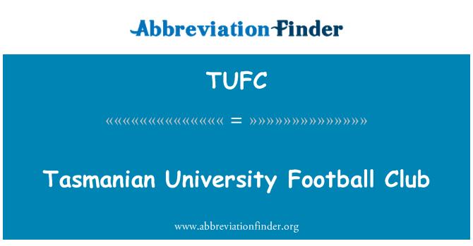 TUFC: Club de fútbol Universidad de Tasmania
