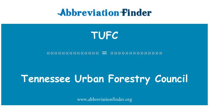 TUFC: Consejo de Silvicultura urbana de Tennessee
