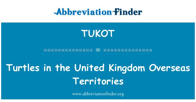 TUKOT: Turtles in the United Kingdom Overseas Territories