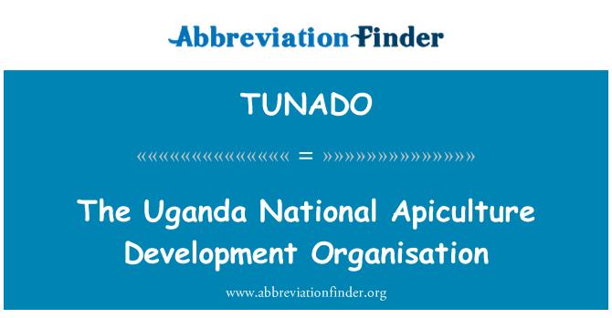 TUNADO: The Uganda National Apiculture Development Organisation