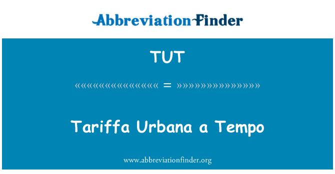 TUT: Käsitleb Urbana a Tempo