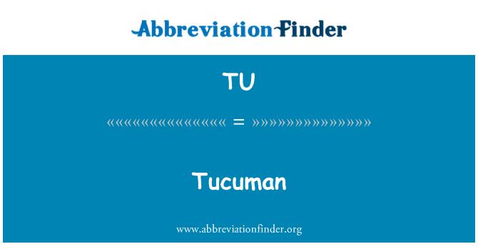 TU: Tucuman