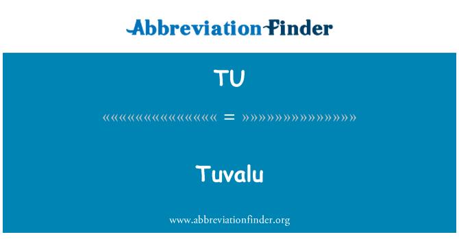 TU: Tuvalu
