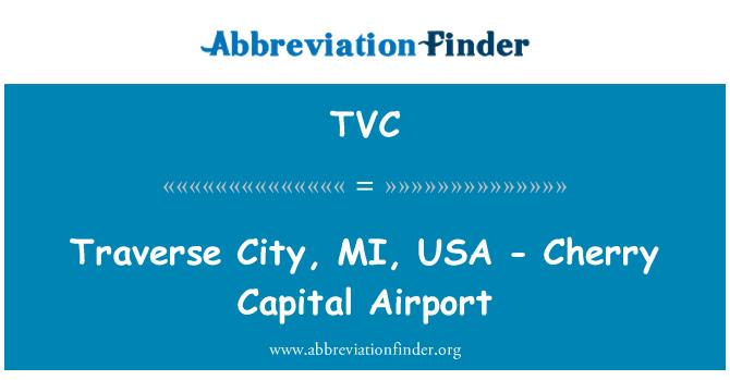 TVC: Traverse City, MI, USA - Cherry Capital Airport