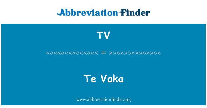 TV: Te Vaka