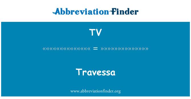 TV: Travessa