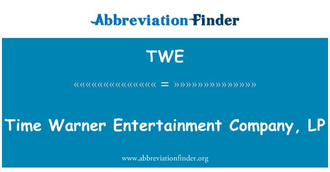 TWE: Time Warner Entertainment Company, LP