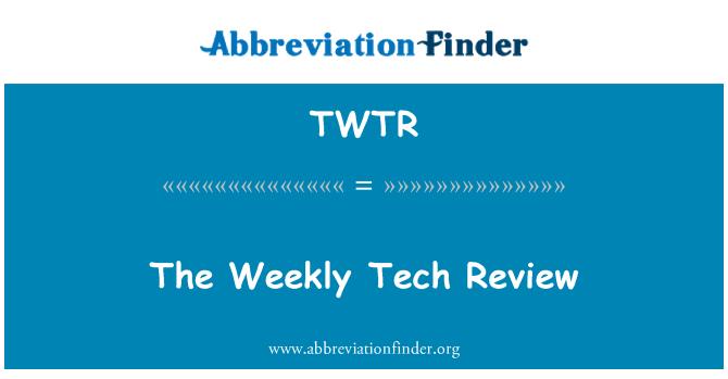 TWTR: Haftalık teknik inceleme