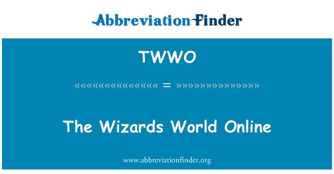 TWWO: The Wizards World Online