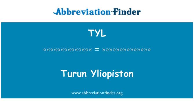 TYL: Turun Yliopiston