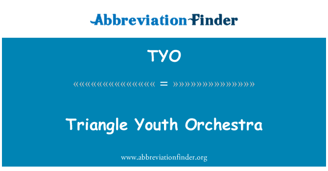 TYO: Triangle Youth Orchestra
