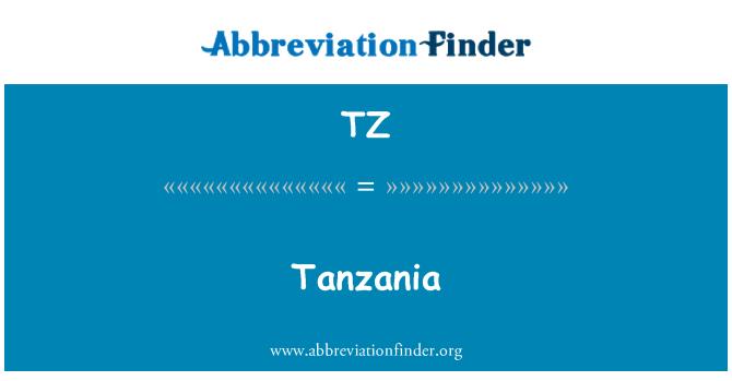TZ: Tanzania