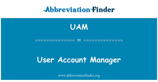 UAM: User Account Manager