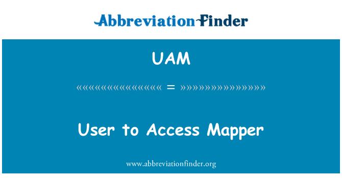 UAM: Usuario de acceso Mapper