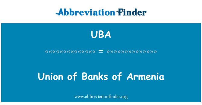 UBA: Unión de bancos de Armenia
