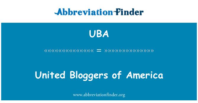 UBA: Bloggers Unidos de América