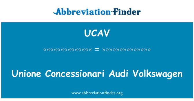 UCAV: Unione Concessionari Audi Volkswagen