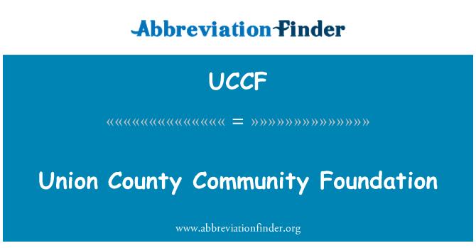 UCCF: Union County Community Foundation
