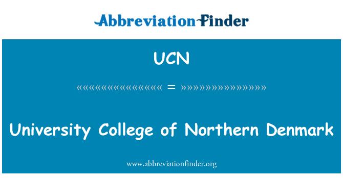 UCN: University College of Northern Denmark