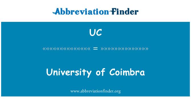UC: Universidad de Coimbra