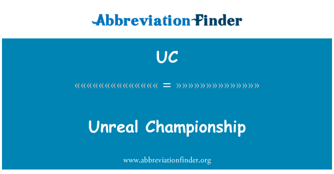 UC: Unreal Championship