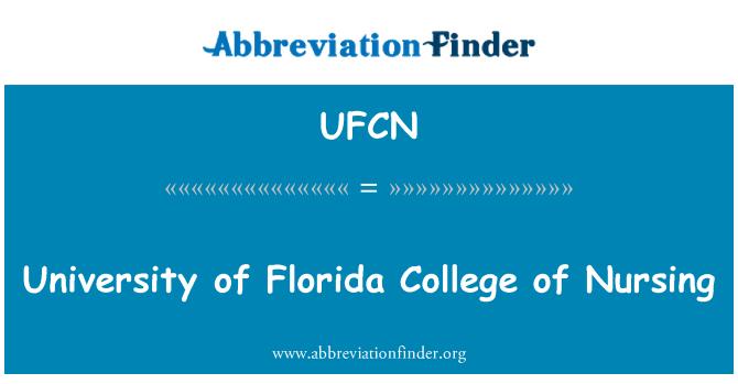 UFCN: University of Florida College of Nursing