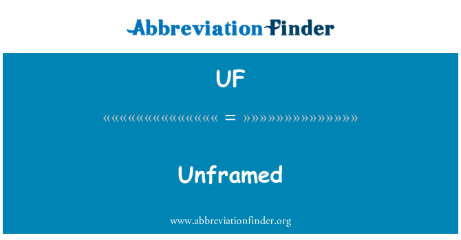 UF: Sin marco