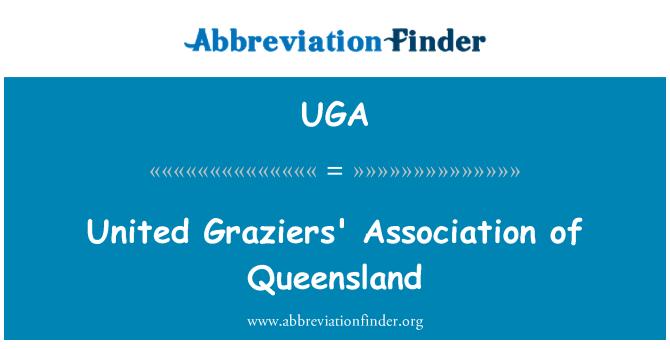 UGA: United Graziers' Association of Queensland