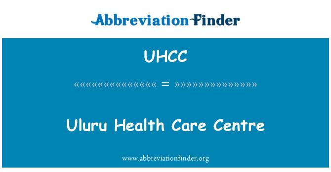 UHCC: Uluru Health Care Centre