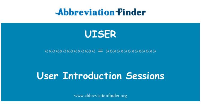 UISER: Kullanıcı giriş oturumları