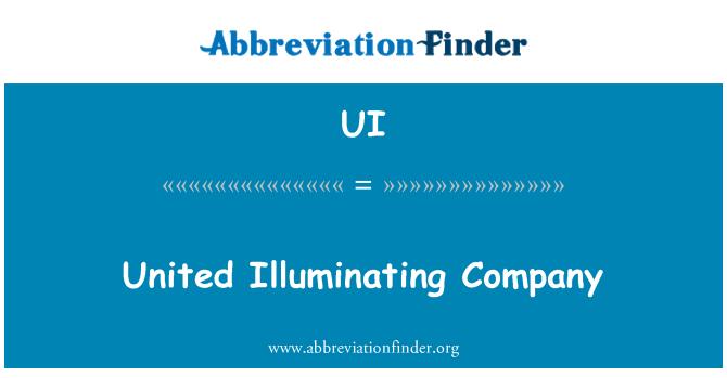 UI: United Illuminating Company