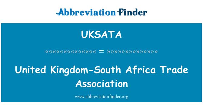 UKSATA: Jungtinė Karalystė ir Pietų Afrikos prekybos asociacija
