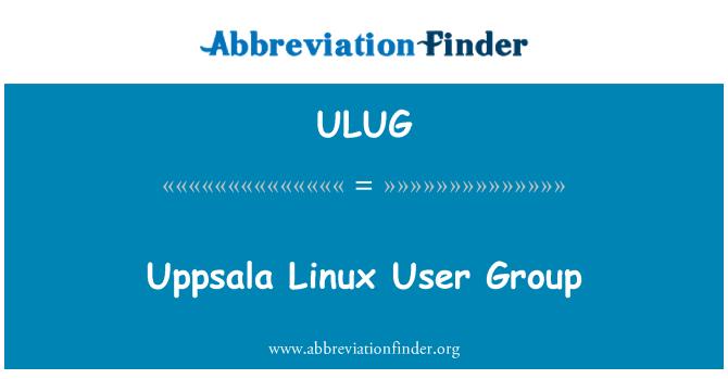 ULUG: Uppsala Linux User Group