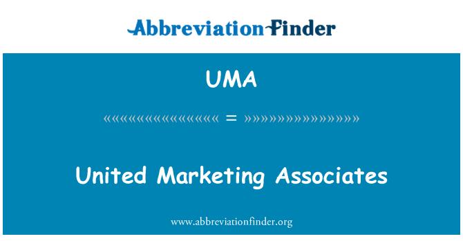 UMA: United Marketing Associates