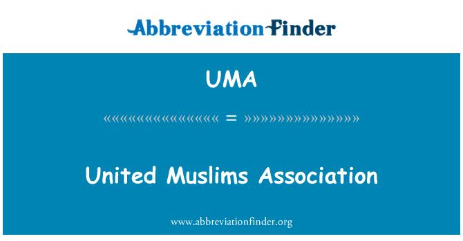 UMA: Asociación de musulmanes Unidos