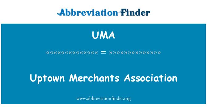 UMA: Asociación de comerciantes zona residencial