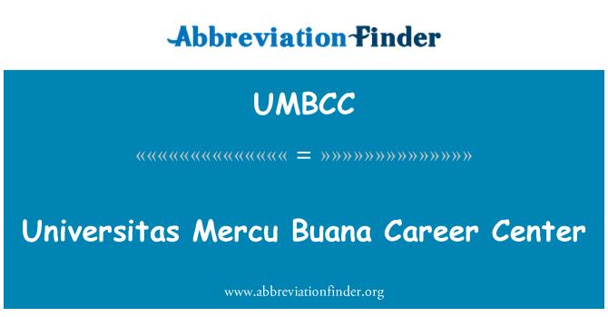 UMBCC: Universitas Mercu Buana Career Center