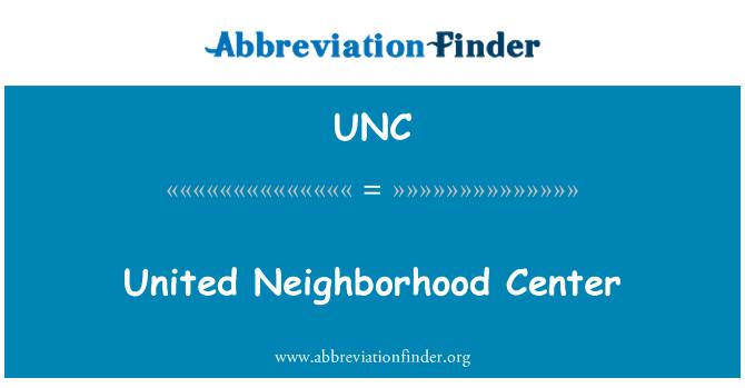 UNC: United Neighborhood Center